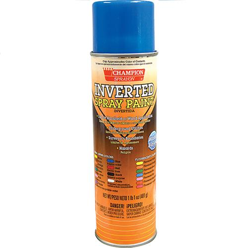 Wholesale Blue Fjuorescent Inverted Tip Spray Paint 17 oz