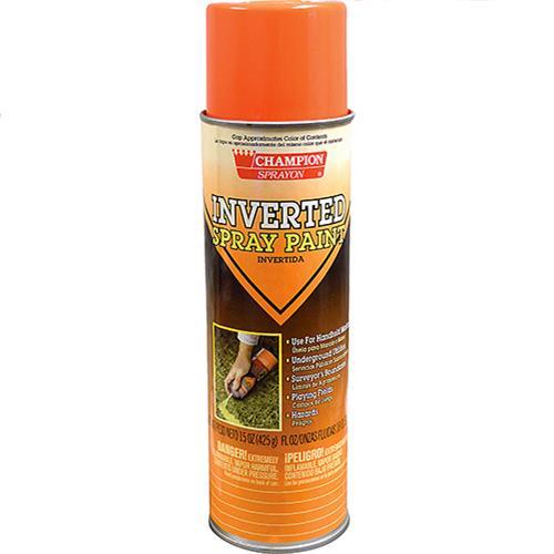 Wholesale Orange Fluorescent Inverted Tip Spray Paint 15 oz.