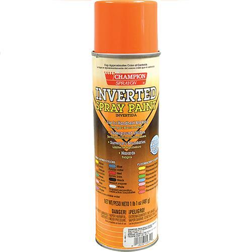 Wholesale Osha Orange Inverted Tip Spray Paint 17 oz