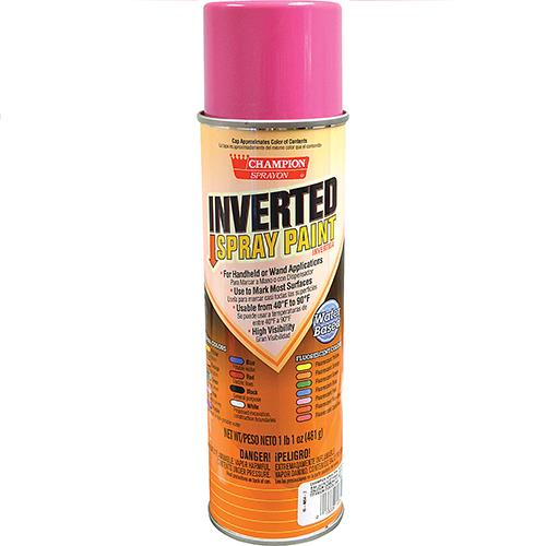 Wholesale APWA Pink Inverted Tip Spray Paint. 17 oz.