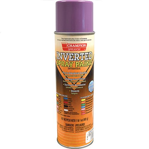 Wholesale OSHA Purple Inverted Tip Spray Paint 17 oz