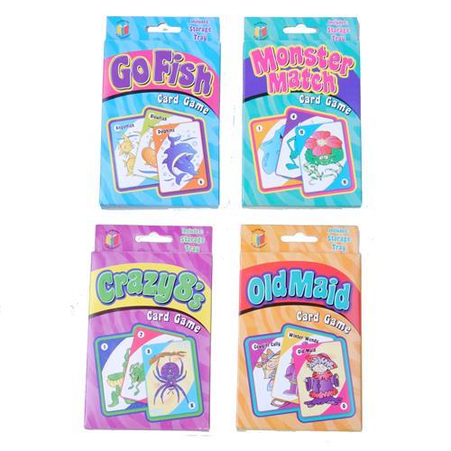 Wholesale Kids Card Games Classic Jumbo 4 Titles