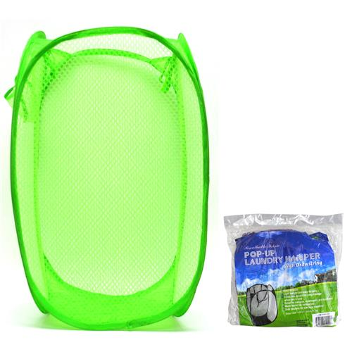 Wholesale Pop Up Laundry Hamper Assorted Colors 32x52cm