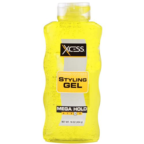 Wholesale Xcess Styling Gel Yellow #9 Mega Hold