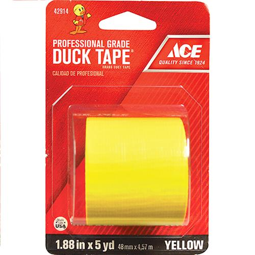"Wholesale 1.88"" x 5YD DUCK TAPE YELLOW"