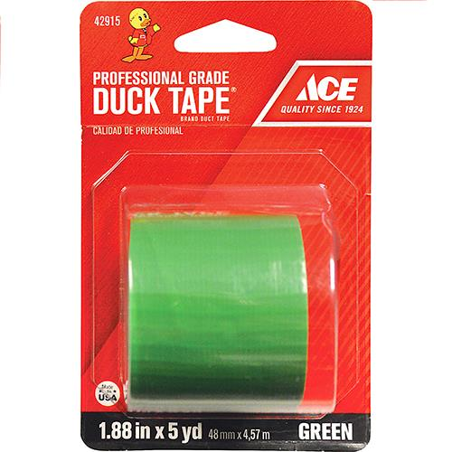 "Wholesale 1.88"" x 5YD DUCK TAPE GREEN"