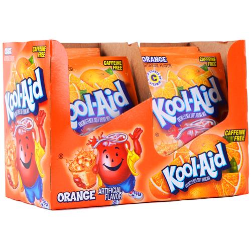 Wholesale Kool Aid Orange Packets