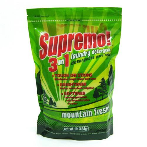 Wholesale Detergent Powder Supremo! 3n1 Laundry Detergent-Mountain Fresh
