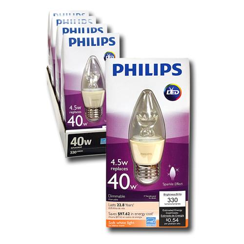 Wholesale z4.5=40W CANDLE LED BULB B13 B
