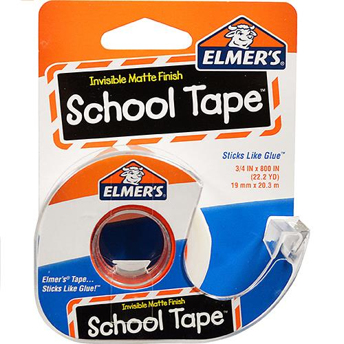 "Wholesale Elmer's School Tape 3/4"" x 800""."
