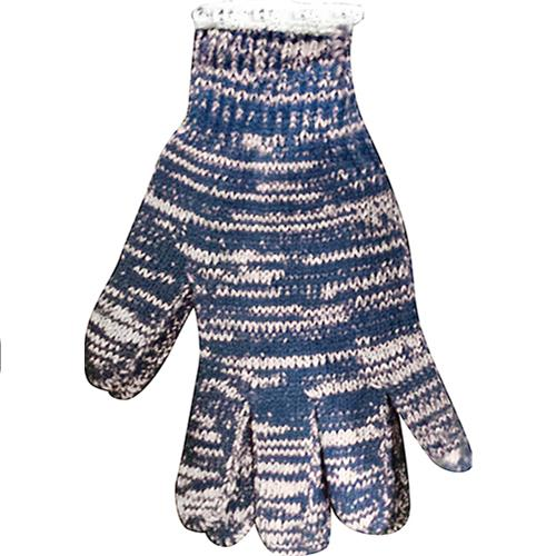 Wholesale 1 Dozen Multi-Colored String Knit Gloves - Large