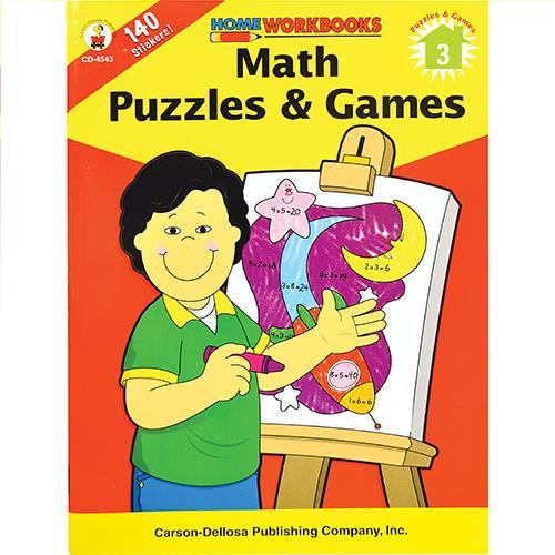 Wholesale ZMATH PUZZLES & GAMES: 3
