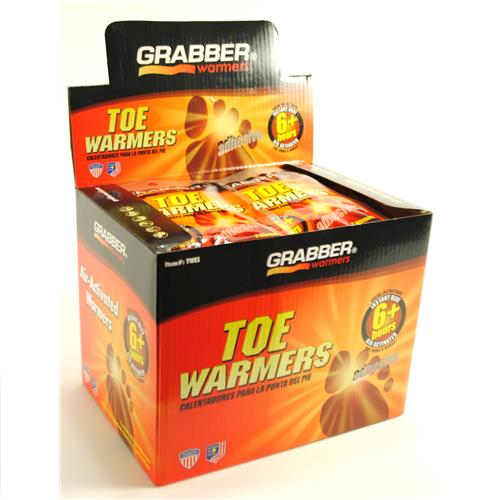 Wholesale Grabber Warmers Toe Warmers 6+ Hours of Heat- Made