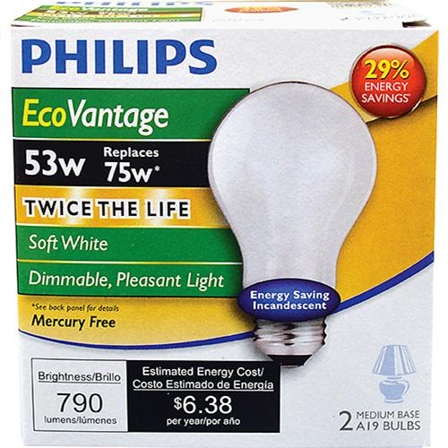 Wholesale 2pk 53=75W HALOGEN BULBS