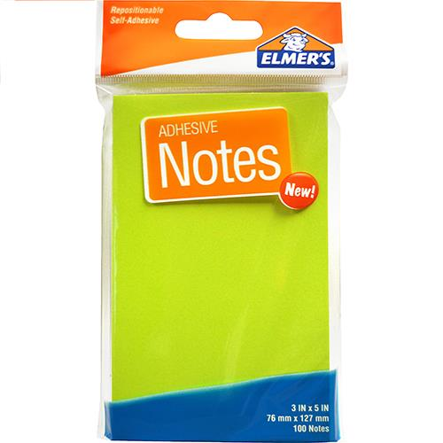 "Wholesale Elmer's Neon Notes 3 x 5""  100 sheets"
