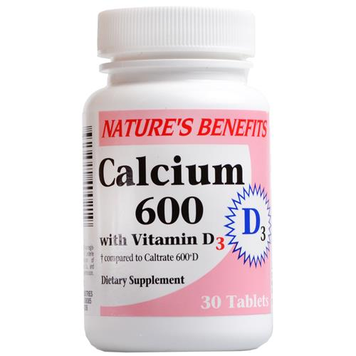 Wholesale Nature's Benefits Calcium 600 w/Vitamin D3 (Caltra