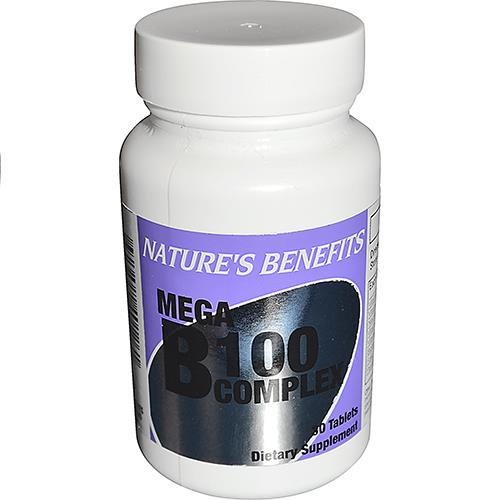 Wholesale Nature's Benefits Mega B-100 30 CT