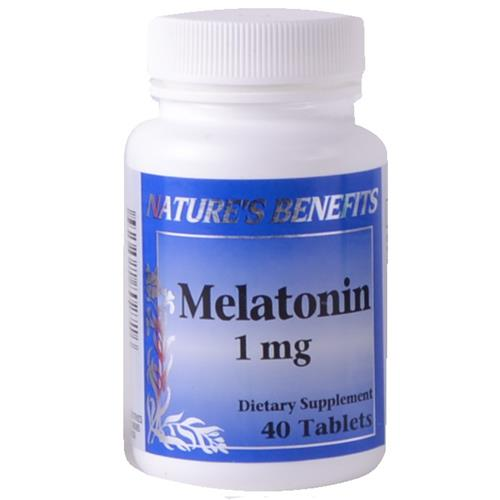 Wholesale Nature's Benefits Melatonin 1mg Tablets w/B6