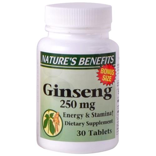 Wholesale Nature's Benefits Ginseng 250 MG
