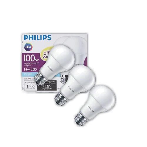 Wholesale 3PK 14W A21 LED LIGHT BULB DIM