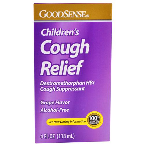 Wholesale Good Sense Cough Relief 15mg Alcohol Free Childrens Grape (Delsym Childrens)1/15