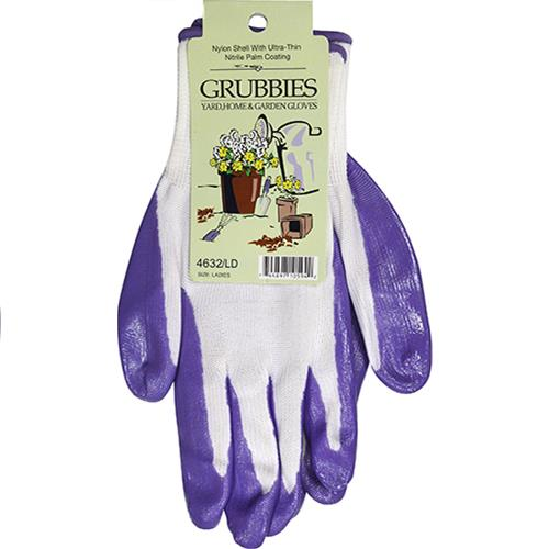 Wholesale Ladies Assorted Pastel Nitrile Coated Palm Gloves