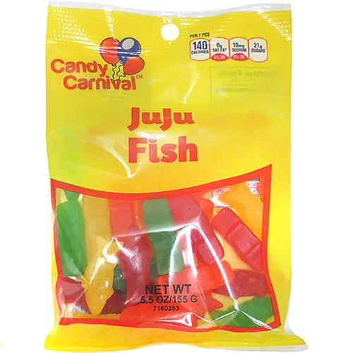 Wholesale Candy Carnival JUJU Fish