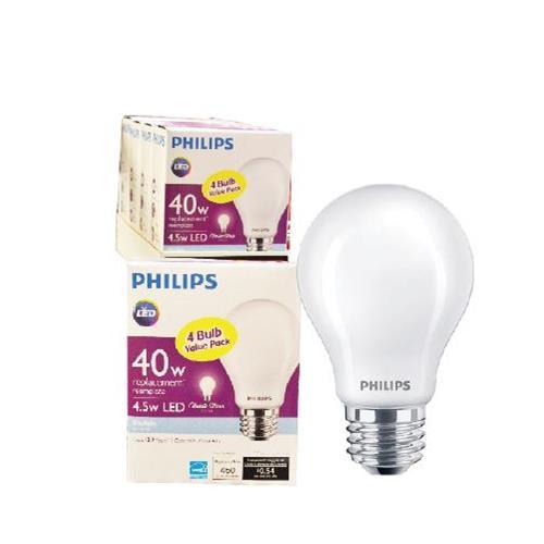Wholesale 4pk 4.5=40W A19 LED BULBS DAYL