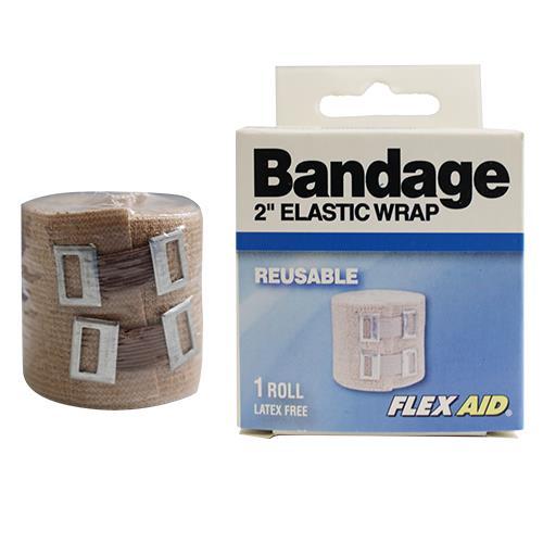 Wholesale 2'' ELASTIC WRAP FLEXIBLE BANDAGE REUSABLE