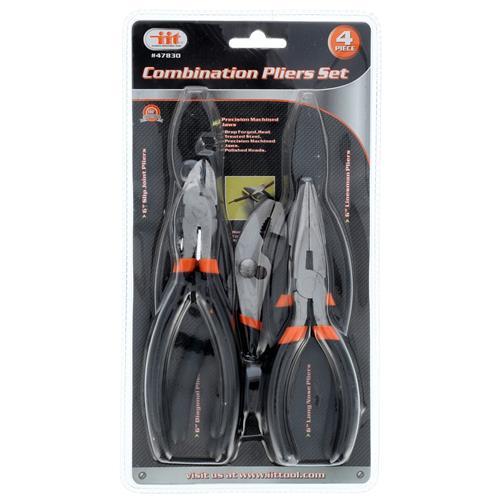 Wholesale 4pc Combination Pliers Set