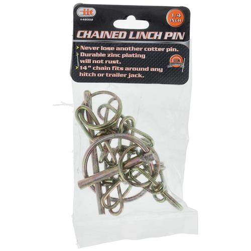 """Wholesale 1/4"""" CHAINED LYNCH PIN"""