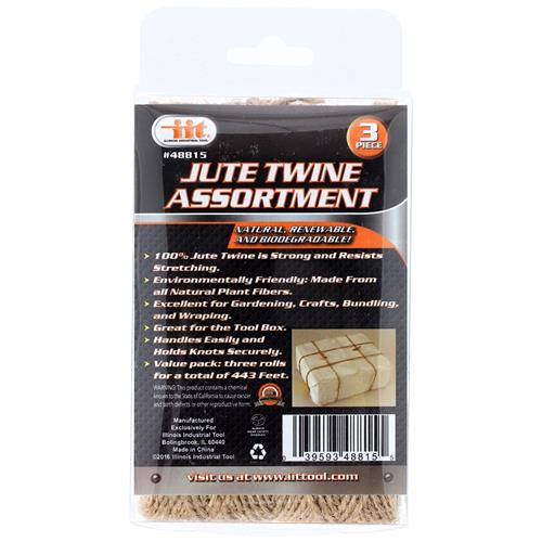 Wholesale 3PCC Jute Twine Assortment