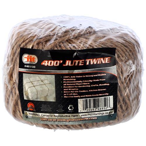 Wholesale 400' Jute Twine