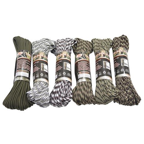 Wholesale 100' PARACORD - 550lb CAPACITY