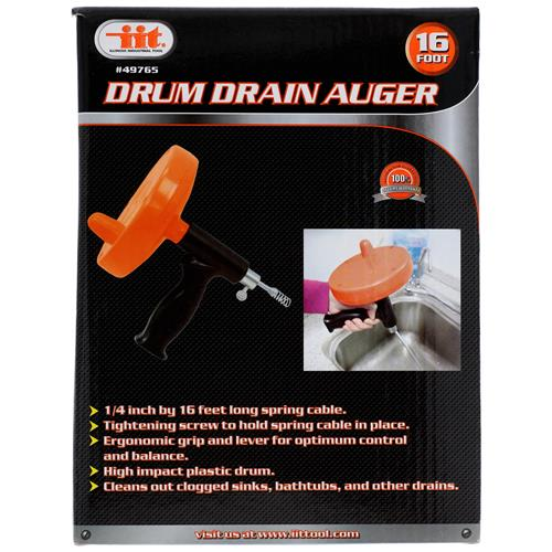Wholesale 16ft DRUM DRAIN AUGER