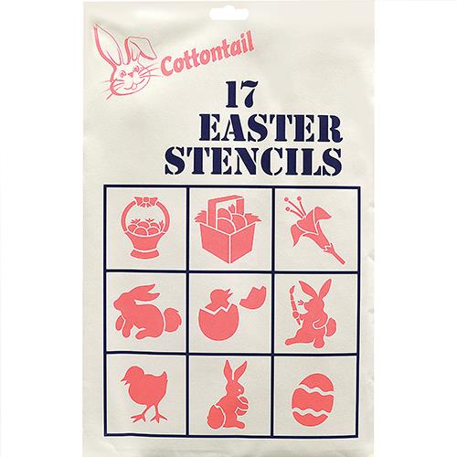 Wholesale Easter Stencils 17 ct for painting