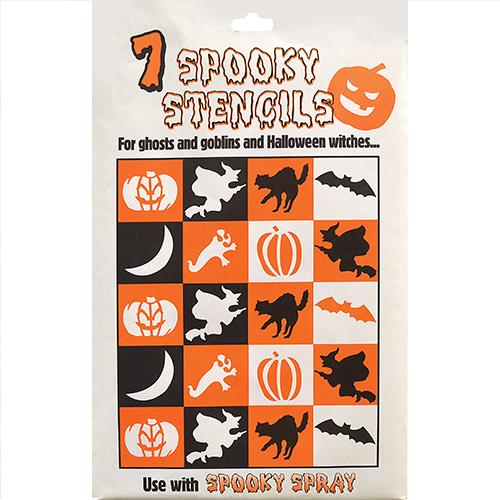 Wholesale Halloween Stencils 7 spooky ct.