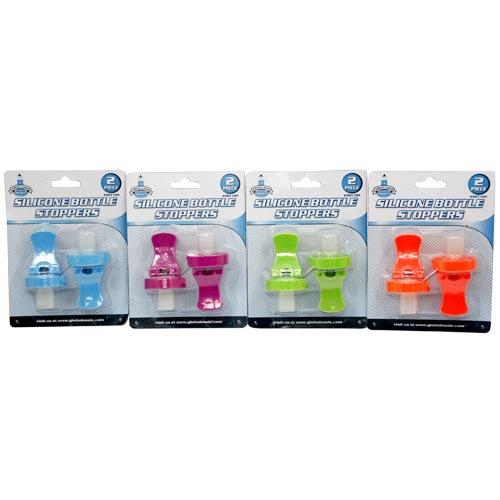 Wholesale 2pc SILICONE BOTTLE STOPPERS