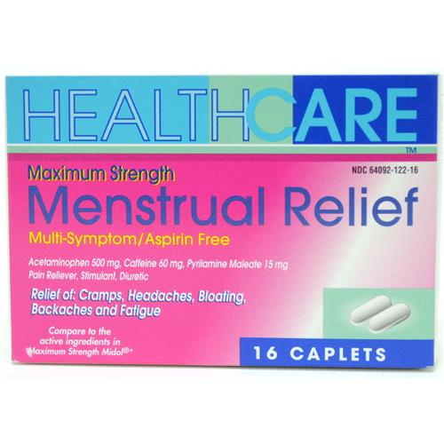 Wholesale Health Care Maximum Strength Menstrual Relief Capl