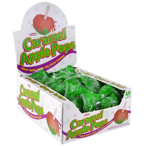 Wholesale Tootsie Roll Caramel Apple Pops C/D