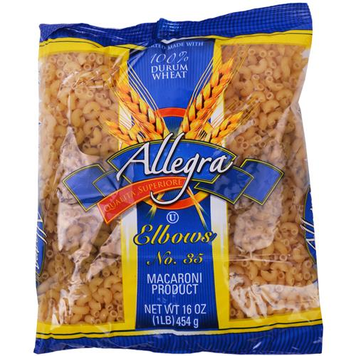 Wholesale Allegra Elbows Pasta