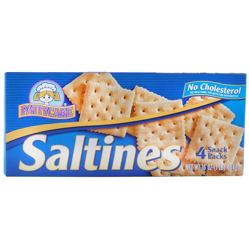 Wholesale Patty Cake Saltine Crackers