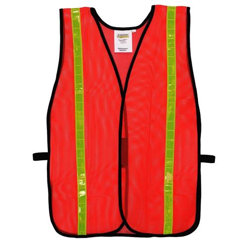 Wholesale MESH SAFETY VEST ONE SIZE FITS ALL