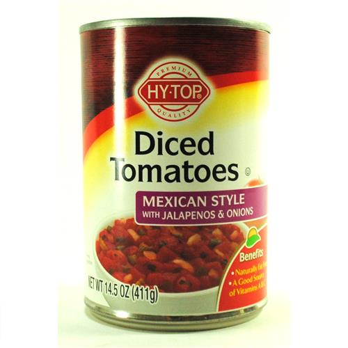 Wholesale HYTOP DICED TOMATOES- MEXICAN MIX (Rotel)