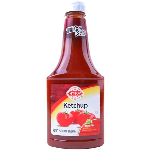 Wholesale Hytop Ketchup in Squeezable Bottle
