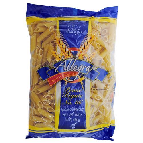 Wholesale Allegra Penne Rigati Pasta