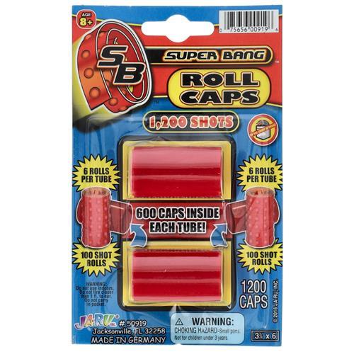 Wholesale Super Bang Roll Caps 1,200 Shots