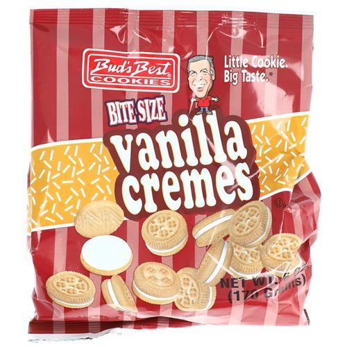 Wholesale Buds Best Bag Cookies Vanilla Cremes