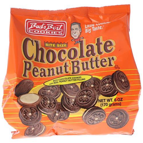 Wholesale Buds Best Bag Cookies Chocolate Peanut Butter Crem