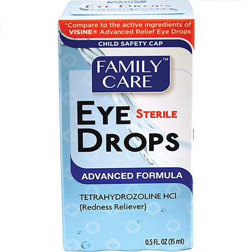 Wholesale Family Care Eye Drops Advanced Formula (Visine Advanced)